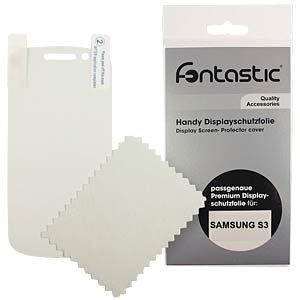 Schutzfolie, 2 Stück, für Samsung Galaxy S3 FONTASTIC SFSAGAS301