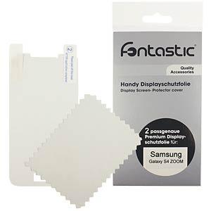 Schutzfolie, 2 Stück, für Samsung Galaxy S4 Zoom FONTASTIC SFSAGAS4Z01