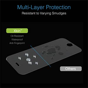 Screen protector for iPhone 7 JUST MOBILE SP-278