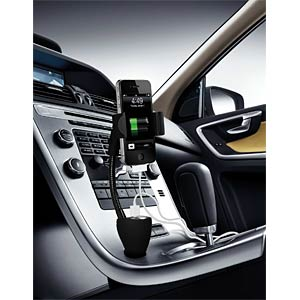 Universal car holder with charger TECHNAXX 3886
