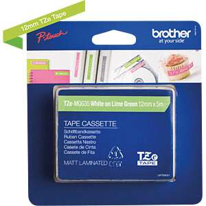 Labelbandcassette 12mm BROTHER TZE-MQG35