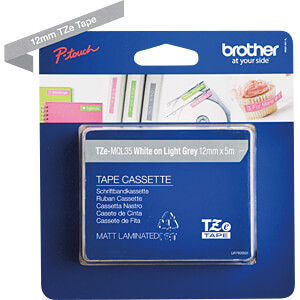 Labelbandcassette 12mm BROTHER TZE-MQL35