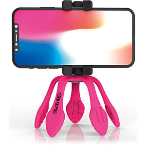 GekkoPod Trépied flexible, Bluetooth®, rose ZBAM 55956