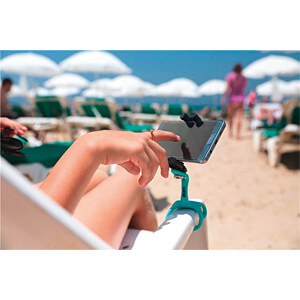 GekkoPod flexibles Stativ, Bluetooth®, pink ZBAM 55956