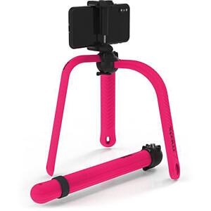Flexibles Stativ / Selfie-Stick, Bluetooth®, pink ZBAM 55964