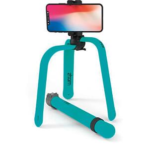 Flexibles Stativ / Selfie-Stick, Bluetooth®, türkis ZBAM 55965