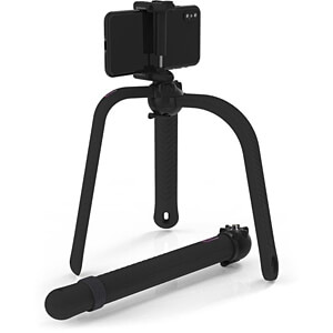 Flexibel statief / selfie-stick, Bluetooth®, zwart ZBAM 55966