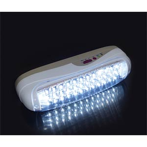 Emergency light with 36 LEDs, 4 V 1.6 Ah battery included FREI