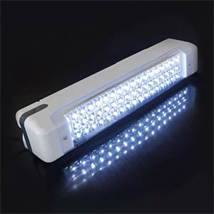 Emergency light with 51 LEDs, 4 V 1.6 Ah battery included SINTRON 207029