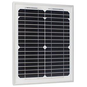 Solarpanel Sun Plus 10 S, 36 Zellen, 12 V, 10 W PHAESUN 310206