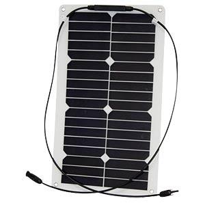 Solarpanel Semi Flex 25, 36 Zellen, 12 V, 1,26 A, 25 W PHAESUN 310295