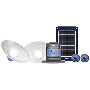 Solarsystem, Home 200 X2, 5 W, inkl. 2 Leuchten NIWA 350091