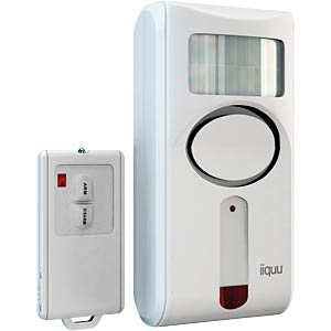 Sensor alarm, wall and corner, with RC IIQUU 510ILSAA002