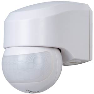 IR motion detector 110°, IP44, white KOPP 823702011