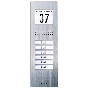 Vistadoor remote station, AP, 6-family house M-E 40725