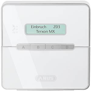 Terxon SX alarm centre, 9-zone alarm system ABUS SECURITY TECH AZ4000