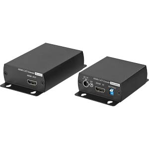 Transmission set for HDMI™ signals MONACOR 18.3350