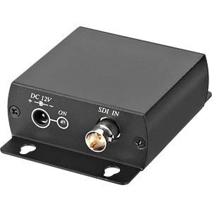 Repeater for HD/SDI video signals (2 x 200 m) MONACOR 18.3670