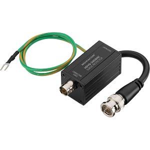Überspannungsschutz für HD-SDI-Anwendungen MONACOR 18.3970