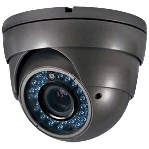 IR dome outdoor colour camera, 700 TVL, IP 66 FREI
