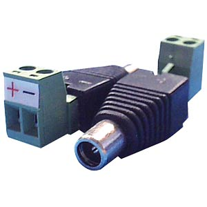 Standard adapter for hollow plug bushes, angled FREI