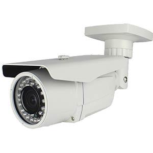 "HD-SDI camera, 1/3"", 2 MP, 2.8 - 12 mm, white FREI"