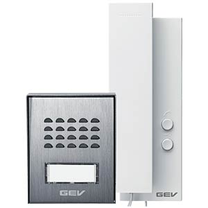 Audio door intercom system, detached house GEV CAS 88306