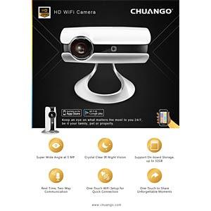 Chuango WiFi Kamera, One-Touch, 720p CHUANGO IP116