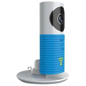 Überwachungskamera, IP, WLAN, innen CLEVERDOG DOG-1W_BLUE