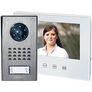 Video door intercom system, detached house GEV CVS 88344