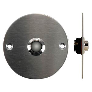 Bell button made of stainless steel VELLEMAN DBB4