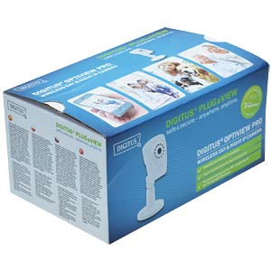 DIGITUS® Plug&View OptiView Pro, 1 megapixel DIGITUS DN-16046