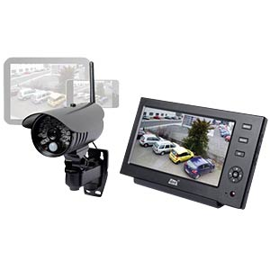 Wireless video surveillance set with LAN DNT 52208