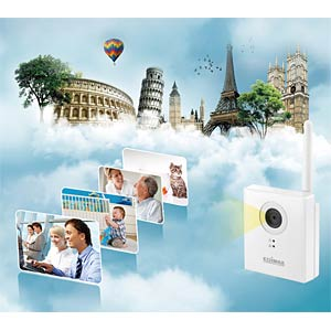 Edimax® LAN/WLAN IP Kamera 1,3MP EDIMAX IC-3115W