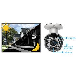 Überwachungskamera, IP, LAN, WLAN, außen EDIMAX IC-9110W