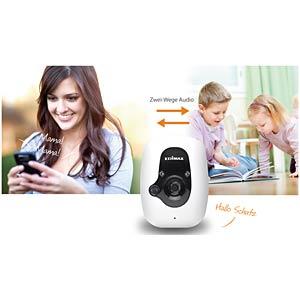 Smarte Sicherheitskamera für den Innenbereich EDIMAX IC-3210W