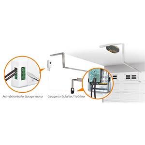 Edimax® WLAN IP Kamera, mit Garagentor-Antriebskontroller EDIMAX IC5160GC