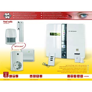 Funk-Alarm- und Automationssystem Set, 868 MHz ELRO HIS20S