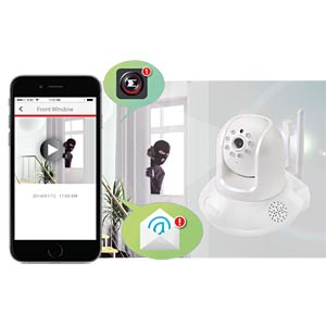 Edimax® WIFI IP camera, pan-tilt EDIMAX IC-7113W