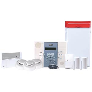 Alarmanlage Privest Premium Set, Funk 868 MHz, inkl. GSM Modul ABUS SECURITY TECH FUAA30007