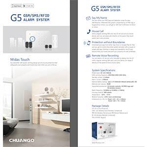 Chuango CG-G5 Funk-Alarmsystem, Startset CHUANGO CG-G5