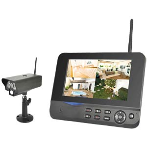 Wireless video system with 1 IR camera FREI