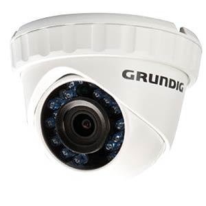 1080p TVI Domecamera (IP66), 3,6mm GRUNDIG GCT-K0123E