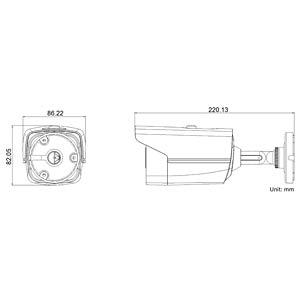 1080p TVI Bulletcamera (IP66), 3,6mm GRUNDIG GCT-K0123T