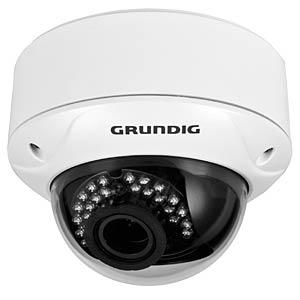 1080p TVI Domekamera (IP66/IK10), 3,6mm GRUNDIG GCT-K1326V