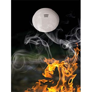 Smoke alarm, 10 years ABUS SECURITY TECH GRWM30500