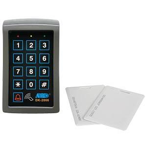 Digitales Codeschloss mit Kartenleser VELLEMAN HAA2866