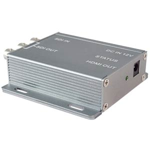 SDI signal amplifier (max. additional range 150 m) FREI