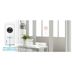Edimax® WLAN IP camera, fisheye, panorama EDIMAX IC5150W