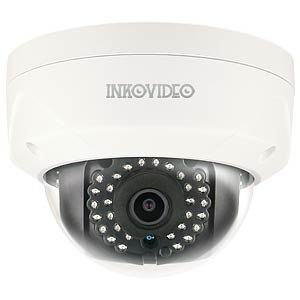 Inkovideo 4MP PoE Domekamera V-110HD, weiß INKOVIDEO V-111-4M